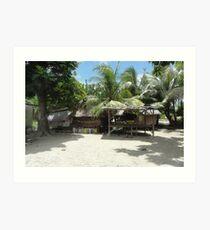 an amazing Kiribati landscape Art Print