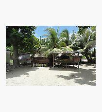 an amazing Kiribati landscape Photographic Print