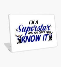 I'm a superstar Laptop Skin
