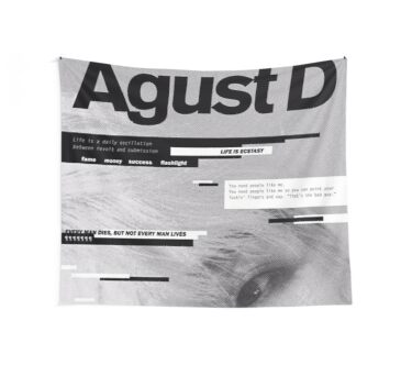 agust d Wall Tapestry