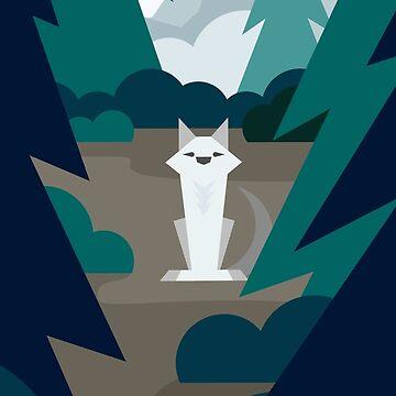 Lone Wolf by rafaelmax