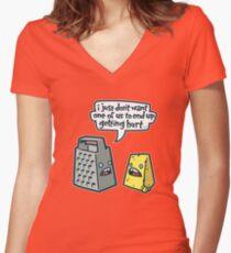 Martin & Simon Women's Fitted V-Neck T-Shirt