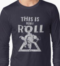 Jiu Jitsu Shirt for BJJ lovers Long Sleeve T-Shirt