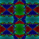 Newton Raphson Fractal Seamless Pattern VII by shane22