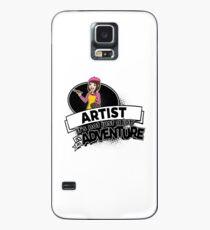 Female Artist Künstlerin - Adventure Hülle & Klebefolie für Samsung Galaxy