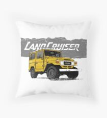 FJ40 land cruiser  Throw Pillow
