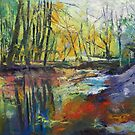 Little Sewickley Creek by Michael Creese