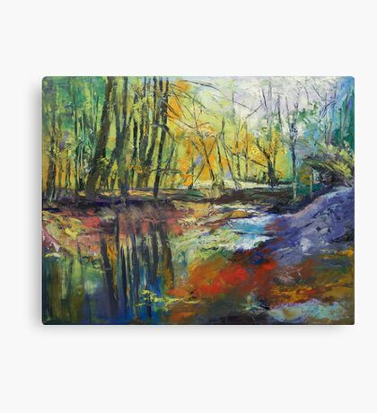 Little Sewickley Creek Canvas Print