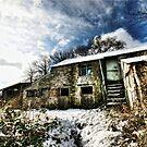 Abandonded Snow Barn by Richard Horsfield