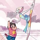 Pearl and Steven Universe - Dance Lessons by megomobile