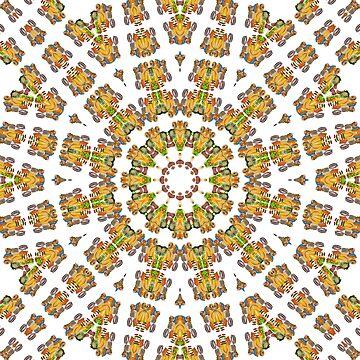 Mandala Food Pattern by MarkUK97