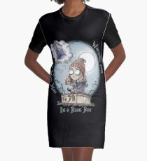 The Girl Who Waited Graphic T-Shirt Dress
