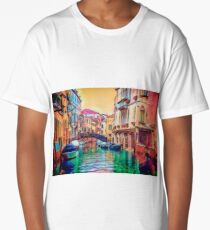 A Venetian Kaleidoscope Long T-Shirt