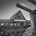 Desolate Diner by Dave Hare