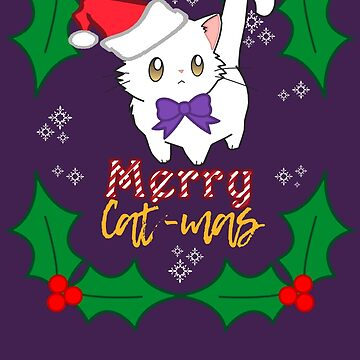 Merry Cat-mas! by KaiFx19