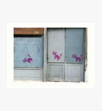 PinkCats Art Print