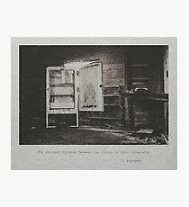 Bukowski #2 Photographic Print