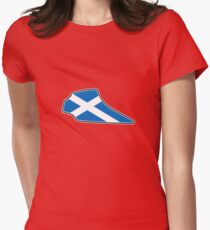 Knockhill Racing Circuit Womens Fitted T-Shirt