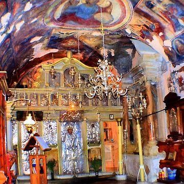 Monastery of Mount Pantokrator - Corfu by missmoneypenny