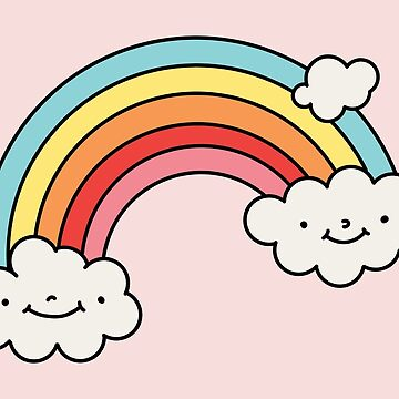 Clouds and rainbow by Elebea by elebea