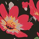 Sixties Blume von RanitasArt