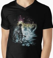 a path to the heart Men's V-Neck T-Shirt