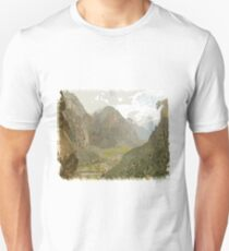 Forest and Mountain Panoramic sky Unisex T-Shirt