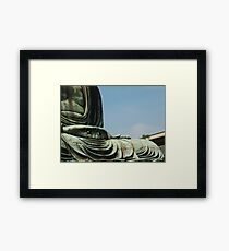 Buddha's hands Framed Print