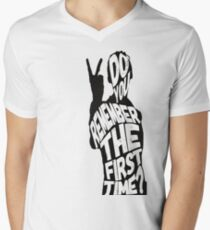 Do You Remeber the First Time? Men's V-Neck T-Shirt