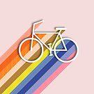 Rainbow bike by ShowMeMars
