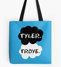 Tyler Oakley & Troye Sivan Tote Bag