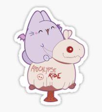 The Bunpire, Vampire Bunny Bat - Apocalypse ride Sticker