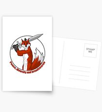 Peace, Diversity and Broadswords Postcards