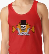 Fire, snakes and a little death Tank Top