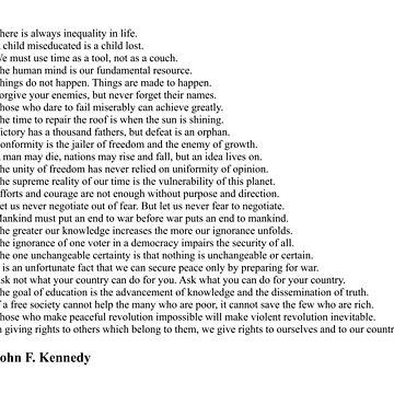 John F. Kennedy Quotes by qqqueiru