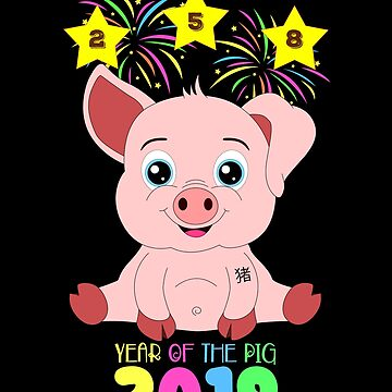 Year Of The Pig 2019 Chinese New Year Astrology Zodiac by Basti09