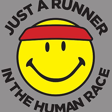 Runner in the human race. by dtkindling