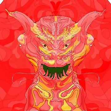 Dragontest by tischbein3