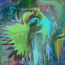 A Broken Wing - Abstract  Art + Products Design  by haya1812