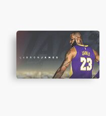 Lebron Lakers Canvas Print