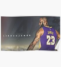 Lebron Lakers Poster