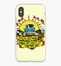 May The Four Winds Blow You Safely Home - Fare Thee Well iPhone Case