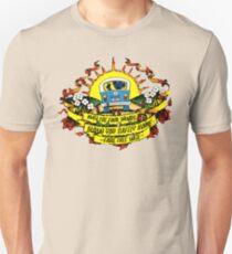 Möge die Vier Winde Dich sicher heimbrennen - Fare Thee Well Slim Fit T-Shirt