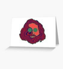 Jerry Face Greeting Card