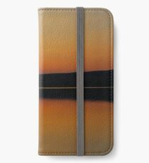 Sunset at the Lake iPhone Wallet/Case/Skin