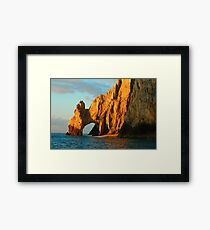 Lover's Arch Land's End Cabo San Lucas Framed Print