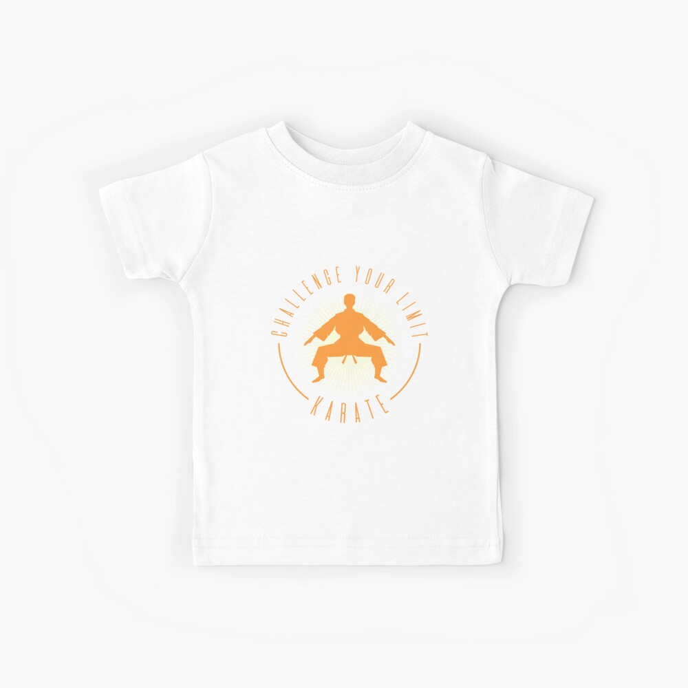Karate Motivation  Limit Kinder T-Shirt