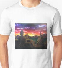 Indonesian Sunset Unisex T-Shirt