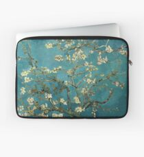 Blossoming Almond Tree, famous post  impressionism fine art oil painting by Vincent van Gogh.  Laptop Sleeve