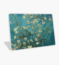 Blossoming Almond Tree, famous post  impressionism fine art oil painting by Vincent van Gogh.  Laptop Skin